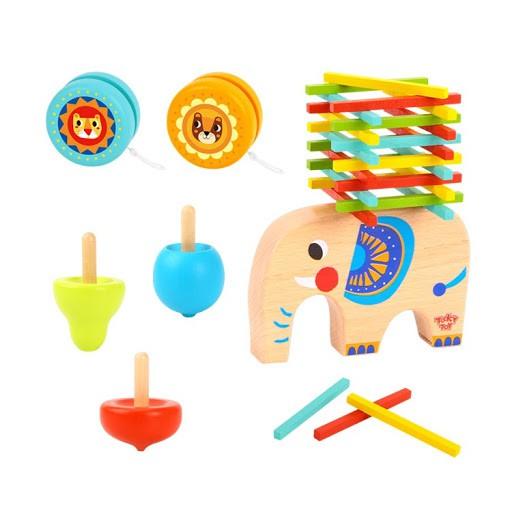 Jogo de Equilibrio  3 em 1 - Elefante