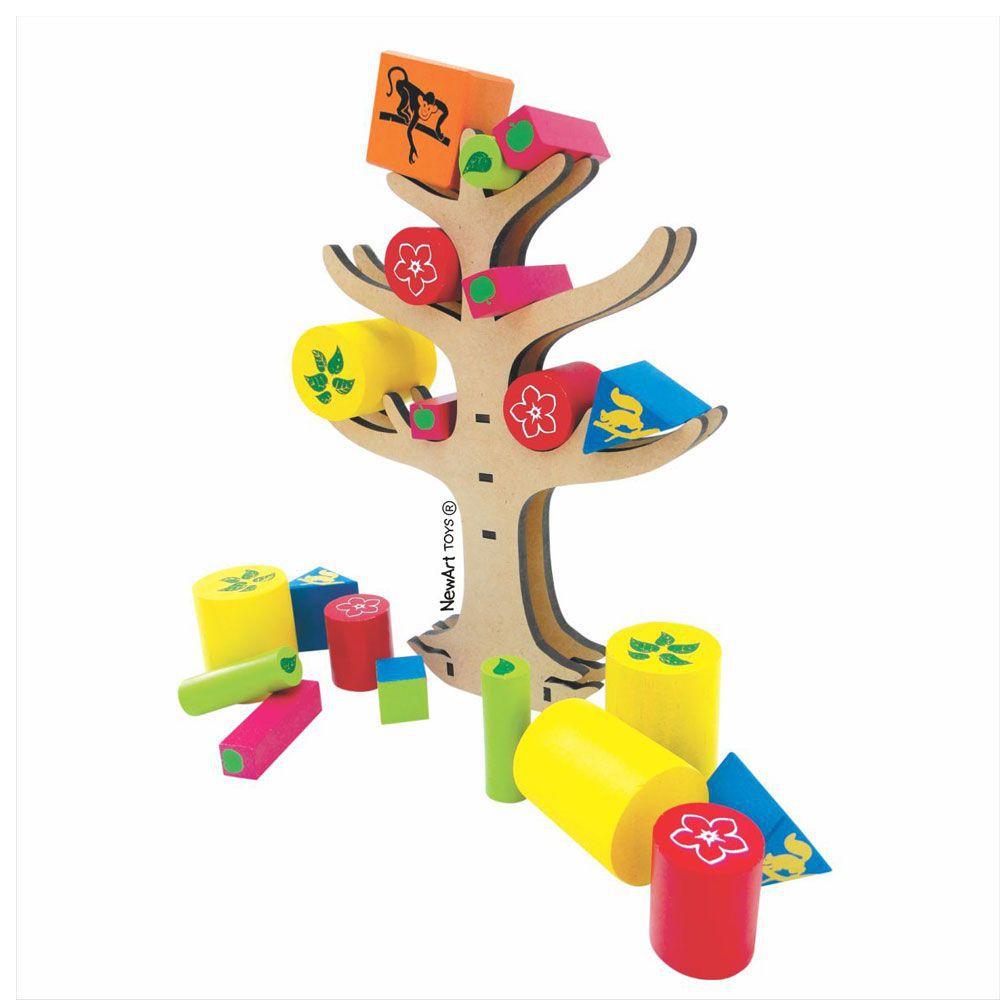 Jogo de Equilíbrio Árvore - NewArt