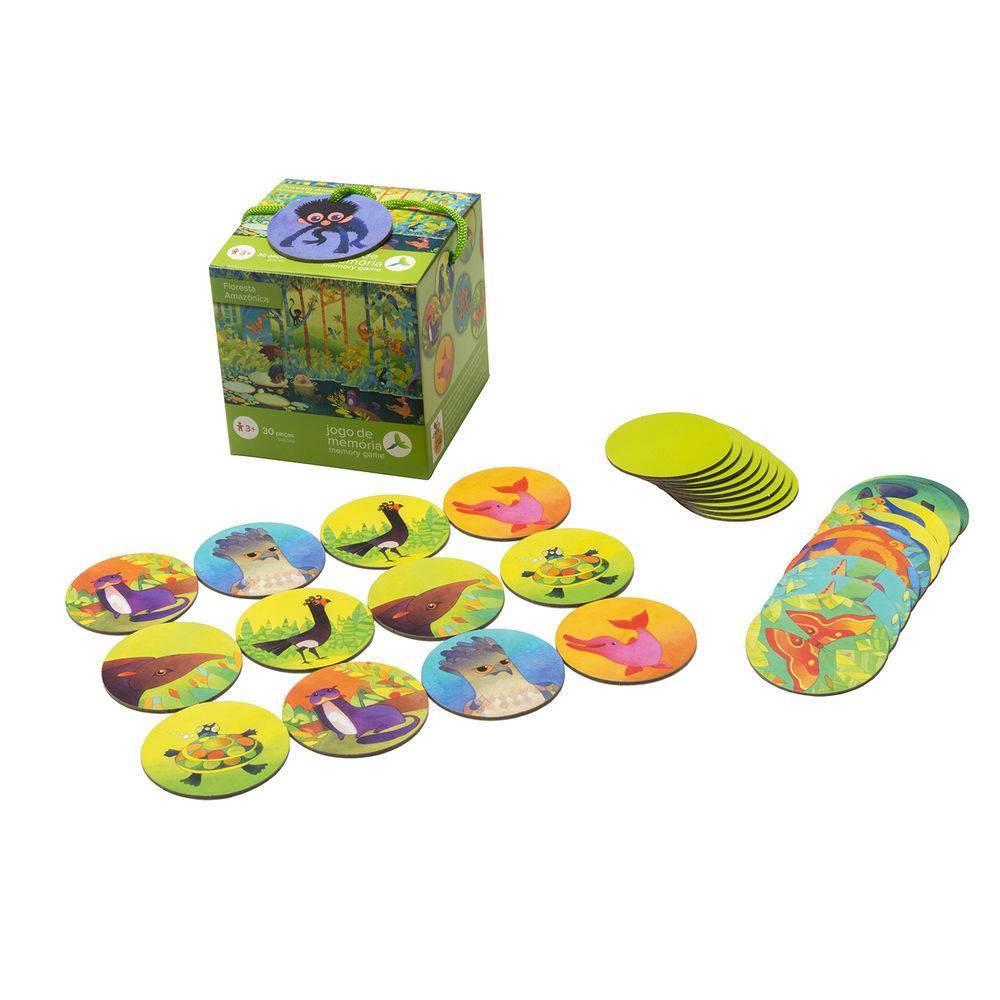Jogo de Memória Floresta Amazônica