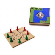 Jogo Mini Mu Torere - Jogos Clássicos do Mundo
