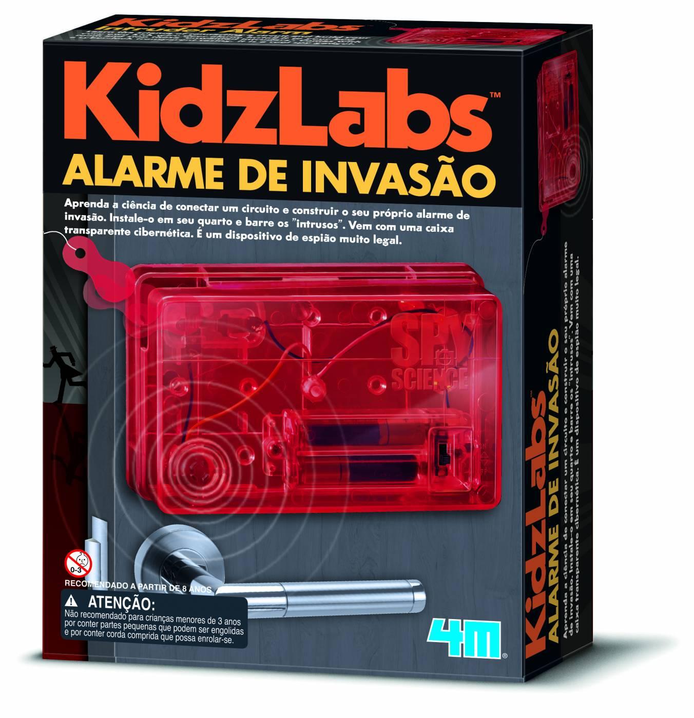 Kit Monte seu Alarme de Invasão - 4M