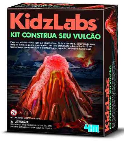 Kit Construa seu Vulcão - 4M