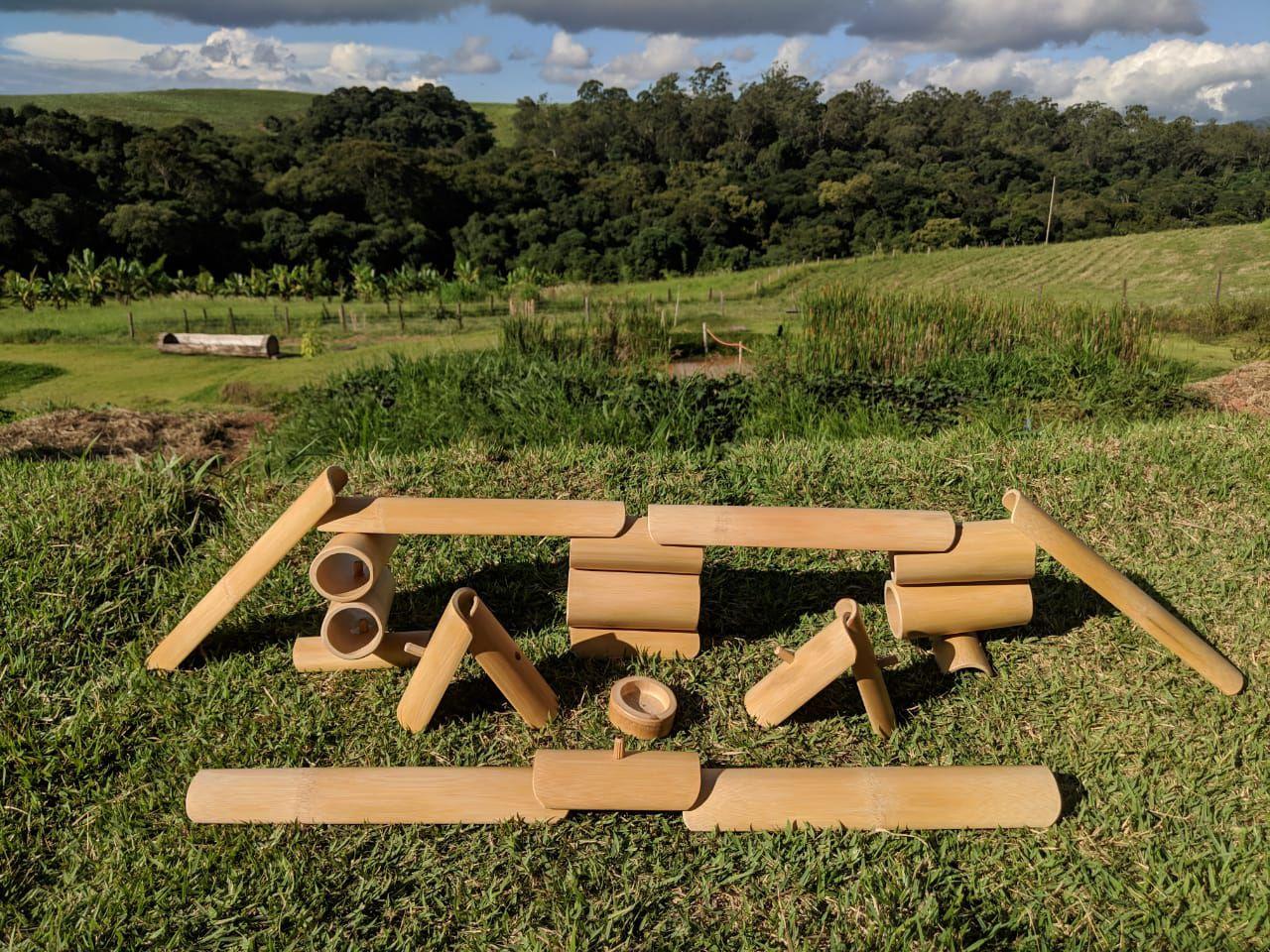 Kit Construção Tao Bambu