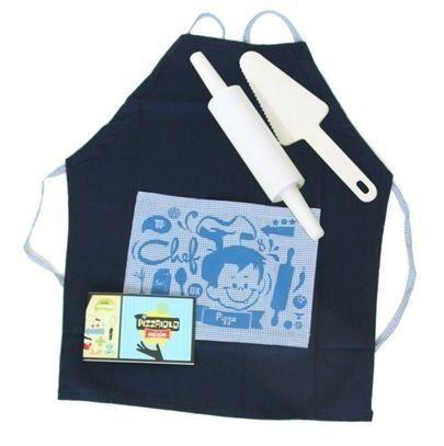 Kit Culinária - Pizzaiolo  Azul