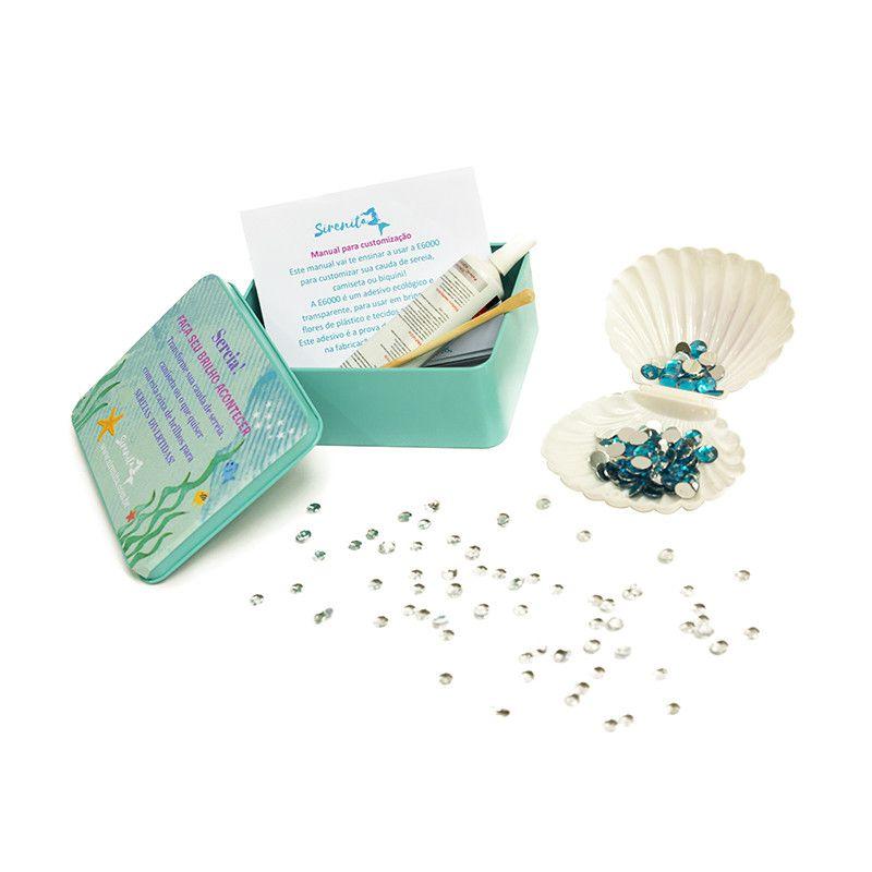 Kit Customização- Caudas de Sereia -  verde