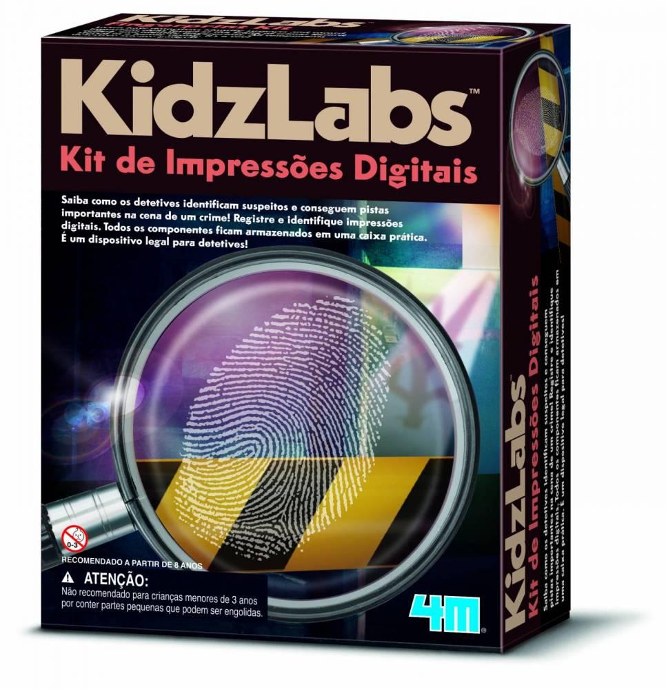 Kit de Impressões Digitais - 4M