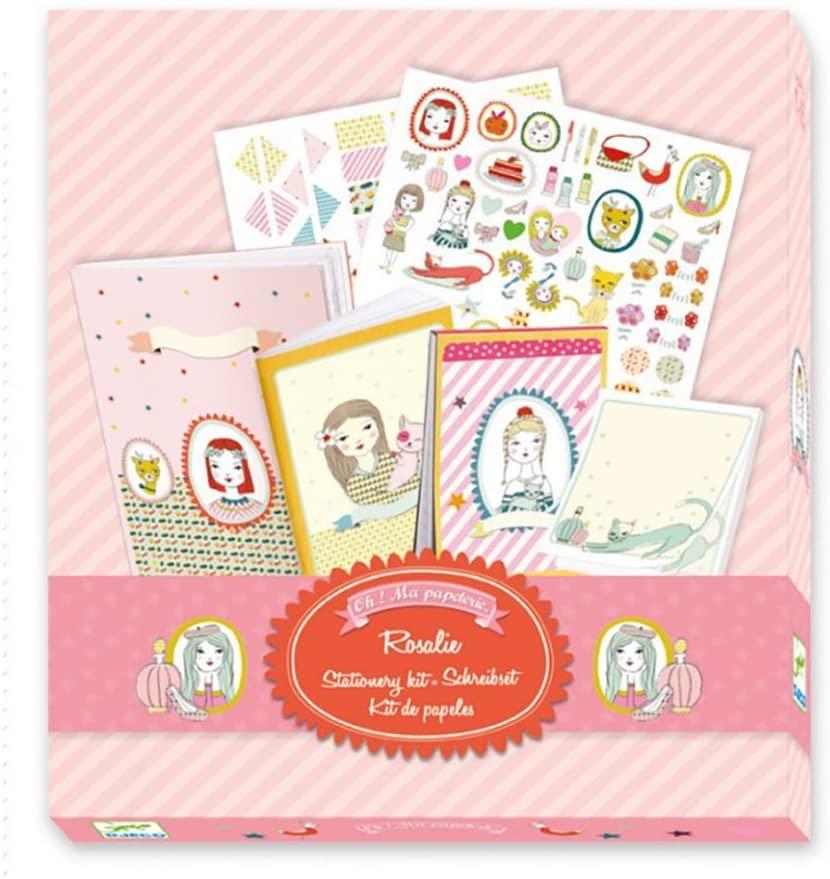 Kit de Papelaria Rosalie - Djeco