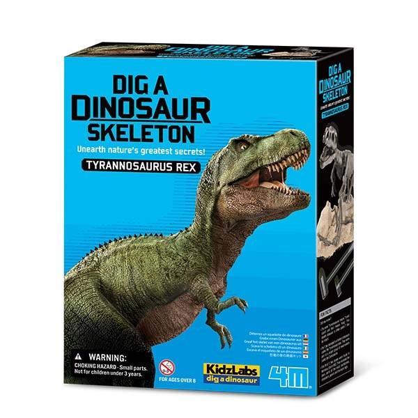 Kit Escavação de Esqueleto - T Rex - 4M