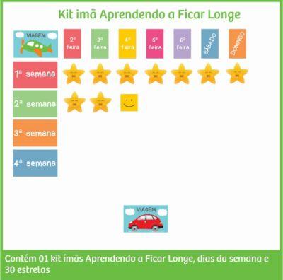 Kit Imãs de Incentivos Aprendendo a Ficar Longe