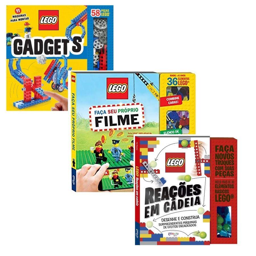 Kit Livros de Atividades Lego