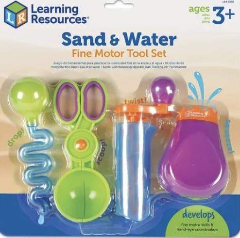 Kit Pinças Motricidade Fina Areia e Agua (Learning Resources)