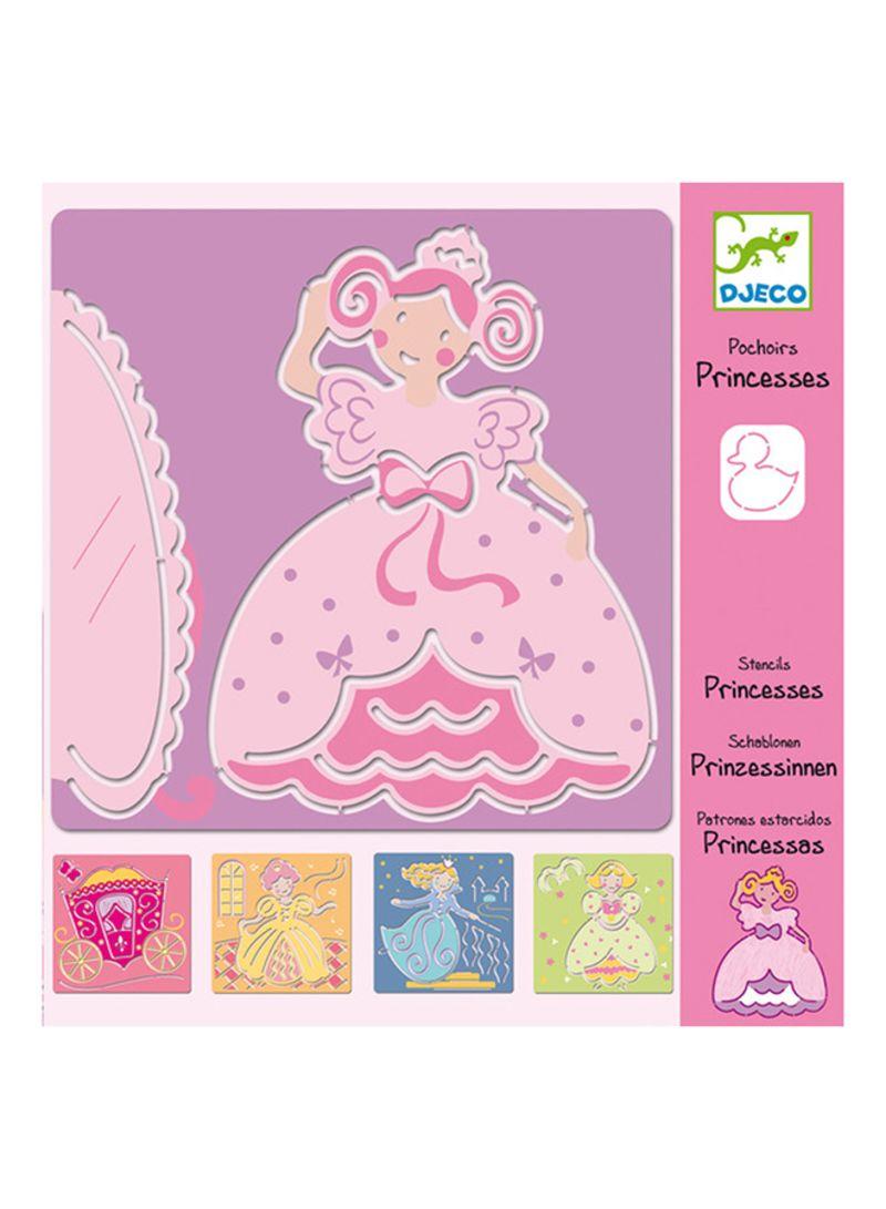 Kit Stencil Princesa - Djeco