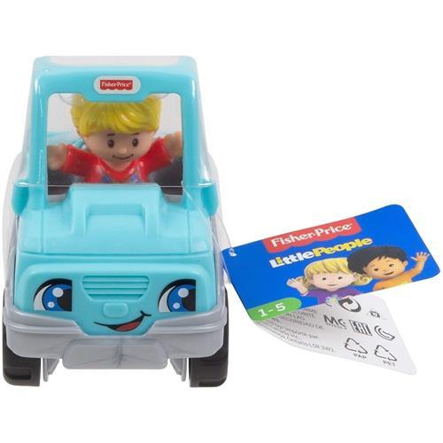 Little People - Mini Figura e Veículo - Pickup Azul