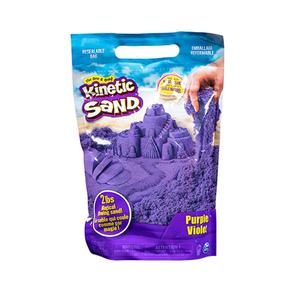Massa Areia para Modelar Kinetic Sand Roxa906g  (areia cinética)