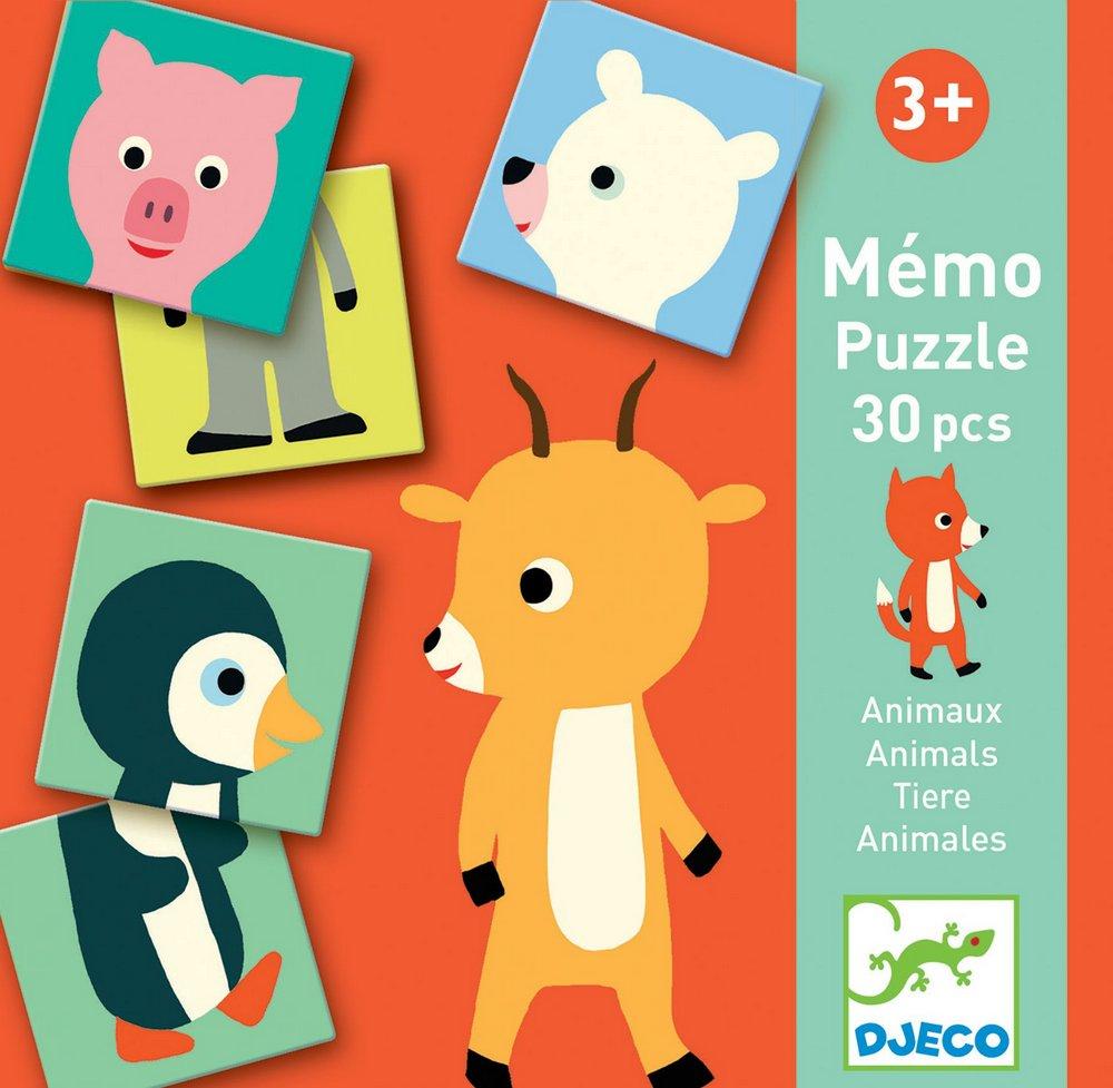 Memo Animo Puzzle -Djeco