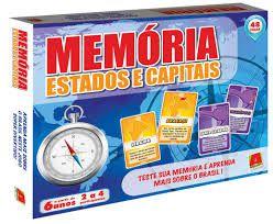 Memória Estados e Capitais