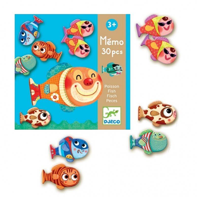 Memória Peixes - Djeco
