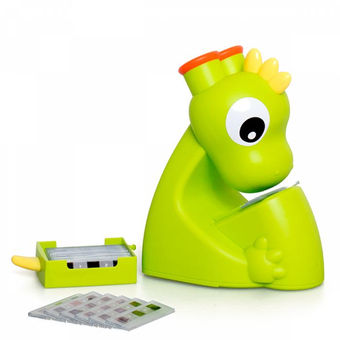 Microscópio Infantil Dino com Lâminas