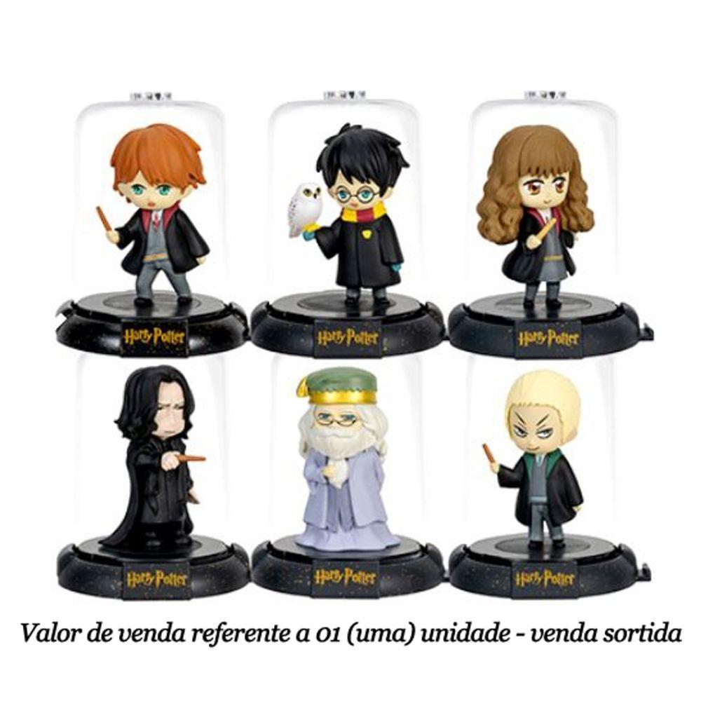 Mini Figura Colecionável Domez Harry Potter