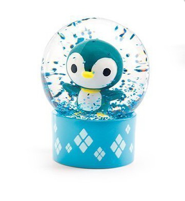 Mini Globo de Neve Pinguim