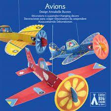 Móbile para montar e pendurar - Aviões