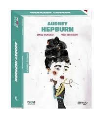 Montando Biografias: Livro e quebra cabeças de Audrey Hepburn
