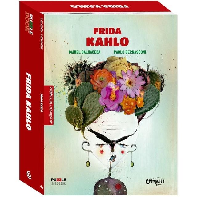 Montando Biografias: Livro e quebra cabeças de Frida Khalo