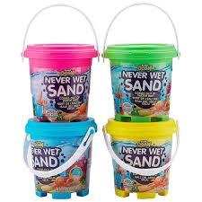 Never Wet Sand - Areia Mágica que nunca molha - Cores Variadas