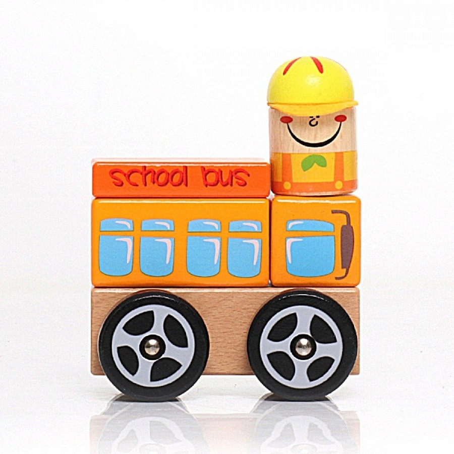 Ônibus Escolar  em Blocos