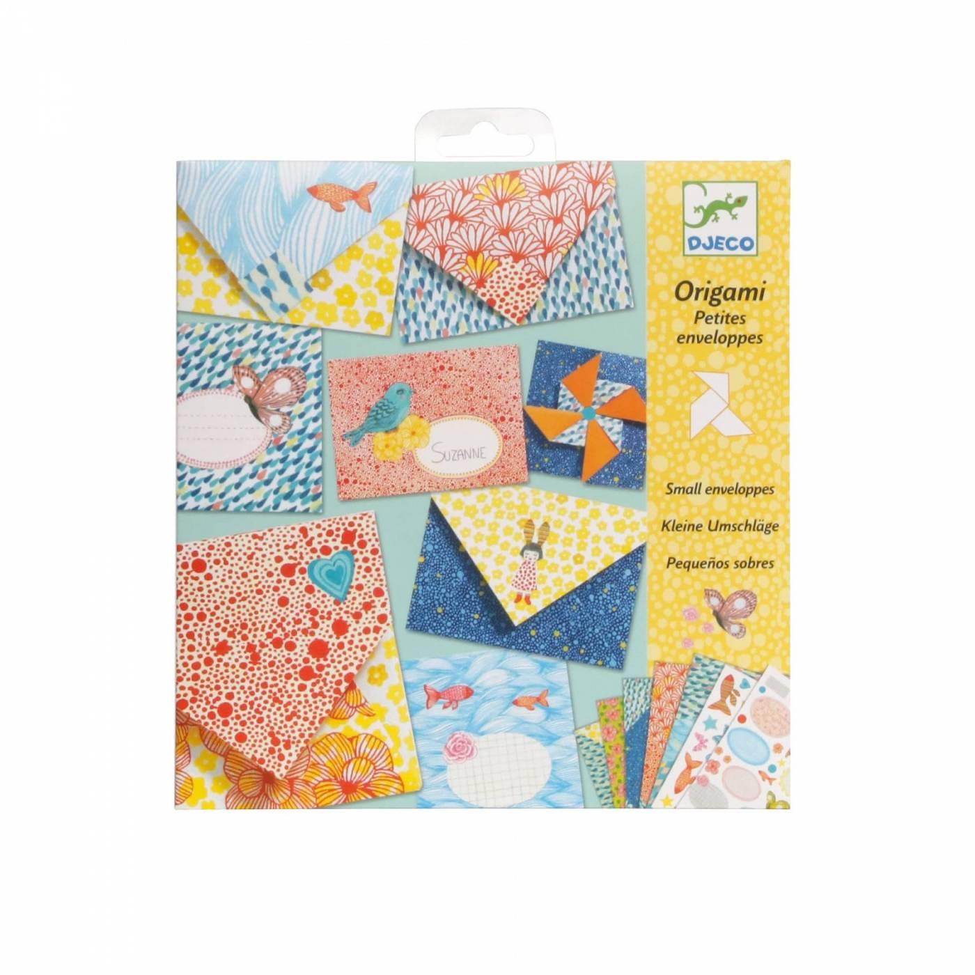 Origami  Dobradura Djeco - Envelopes