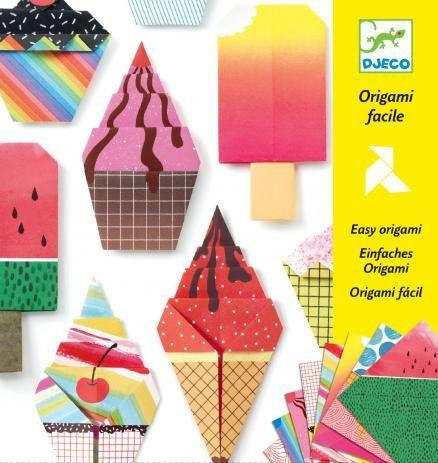 Origami Dobradura Fácil - Doces