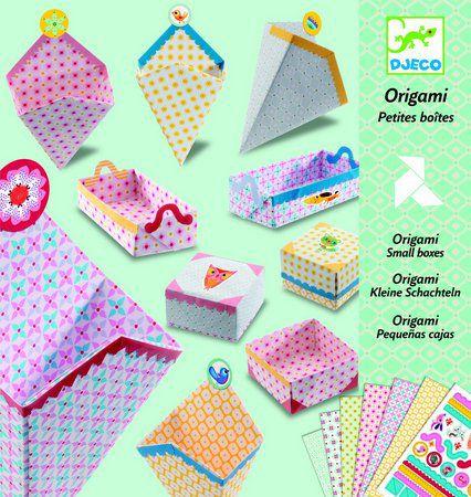 Origami Dobradura Djeco - Caixinhas