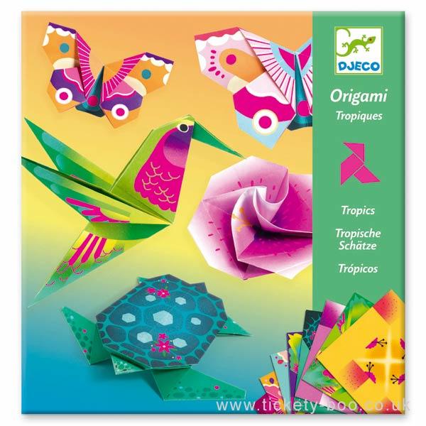 Origami Dobradura Djeco - Trópicos