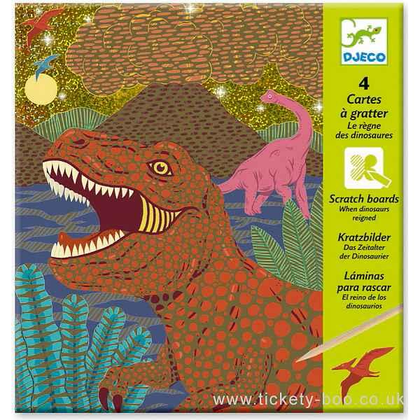 Para Raspar - Dinossauros
