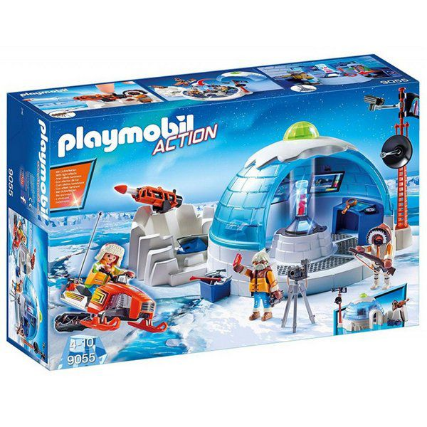 Playmobil Action - Central de expedição polar