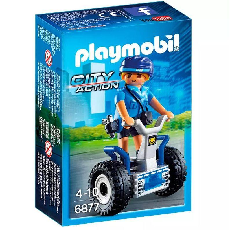 Playmobil City Action - Policial Feminina