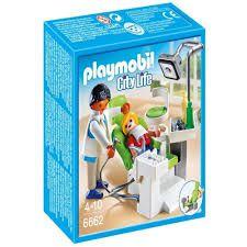 Playmobil City Life - Dentista com Paciente