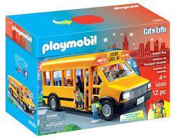 Playmobil City Life - Ônibus Escolar