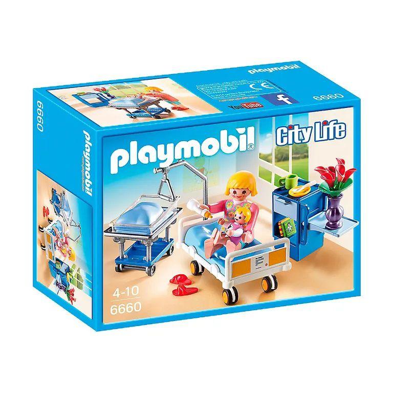 Playmobil City Life - Quarto maternidade mamãe e bebê