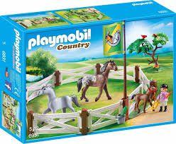 Playmobil Country - Cercado com Cavalos para doma