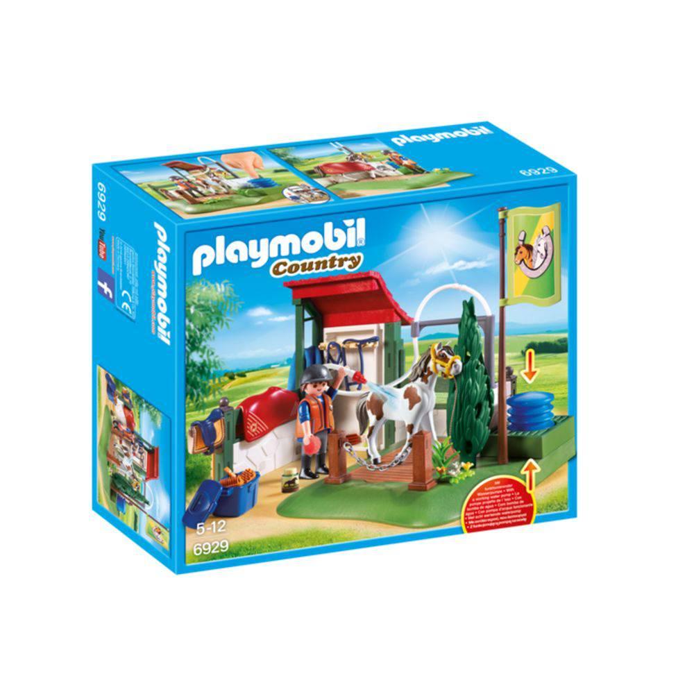 Playmobil Country - Estação de preparo para cavalos