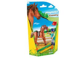 Playmobil Country - Terapeuta com cavalo