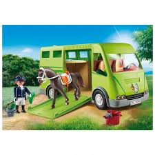 Playmobil Country - Transporte de cavalos