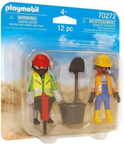 Playmobil DuoPack  - Trabalhadores da Construção