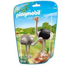 Playmobil Family Fun - Família Avestruz