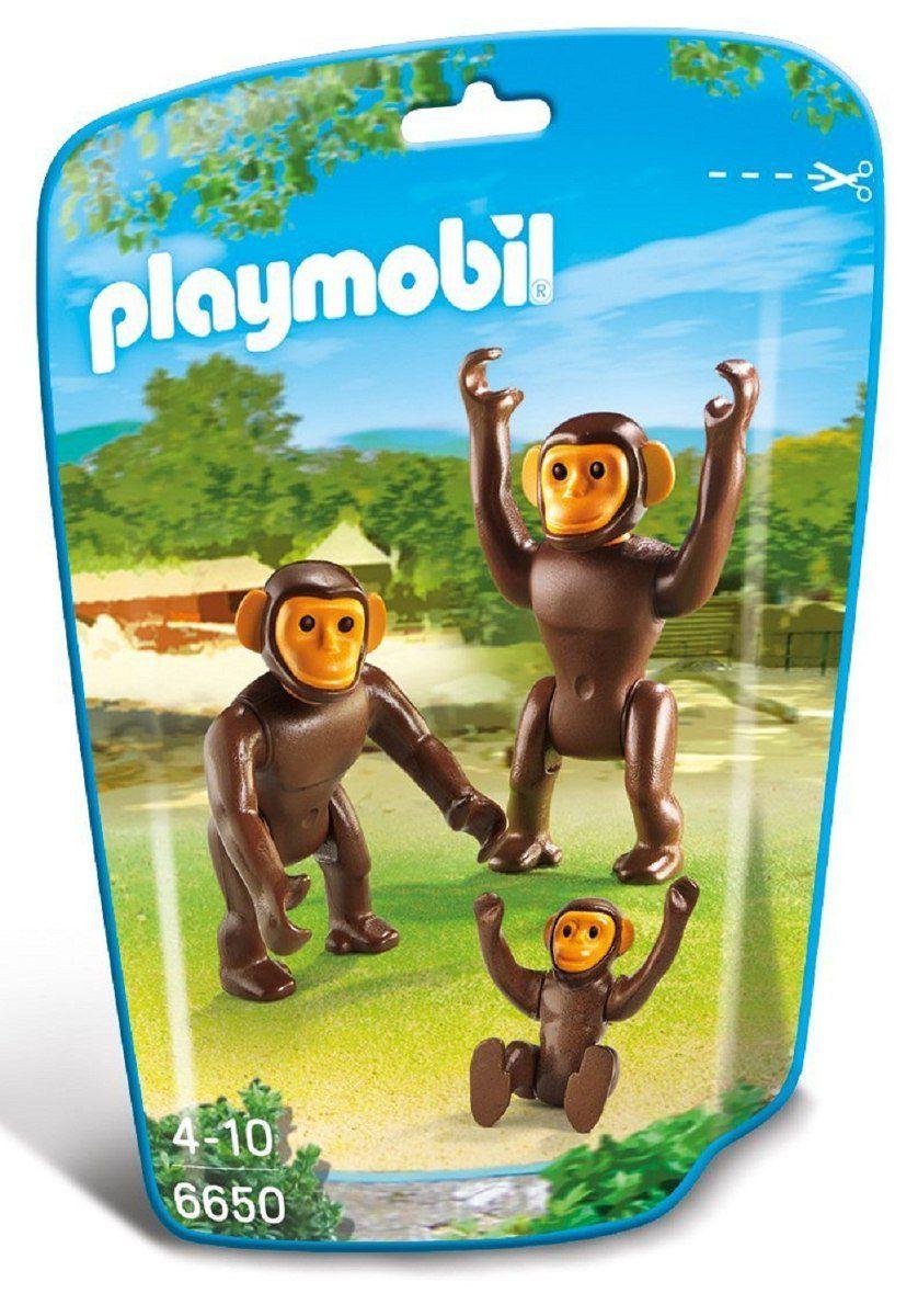 Playmobil Family Fun - Família Chimpanzé