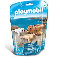 Playmobil Family Fun - Foca com bebê