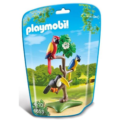 Playmobil Family Fun - Pássaros Tropicais