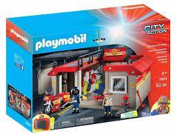 Playmobil City Action - Maleta Posto de Bombeiros