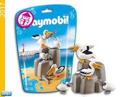 Playmobil - Saquinho com animais - Familia Pelicano